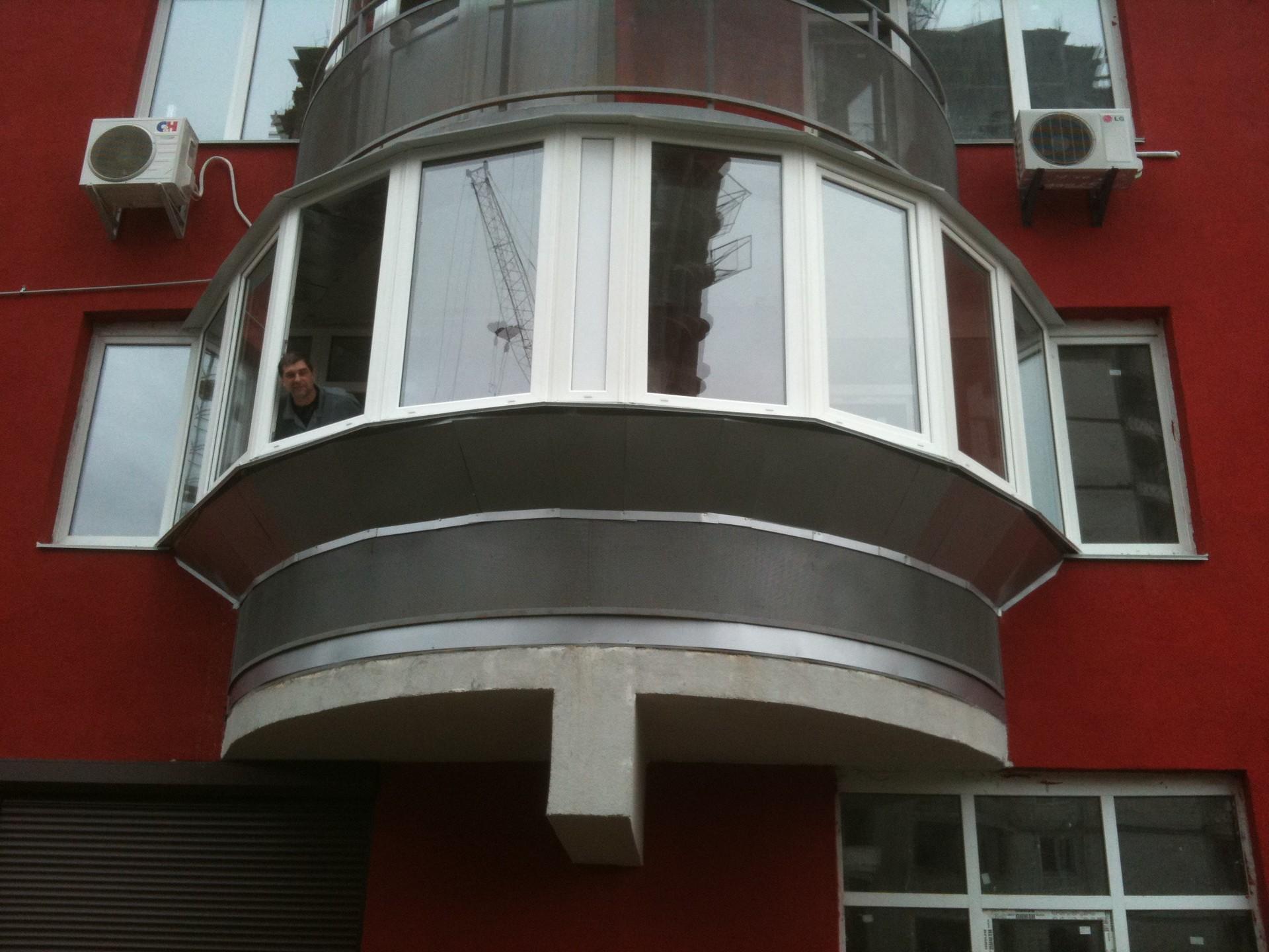 Фото: установка металлопластиковых окон, дверей, балконов в .