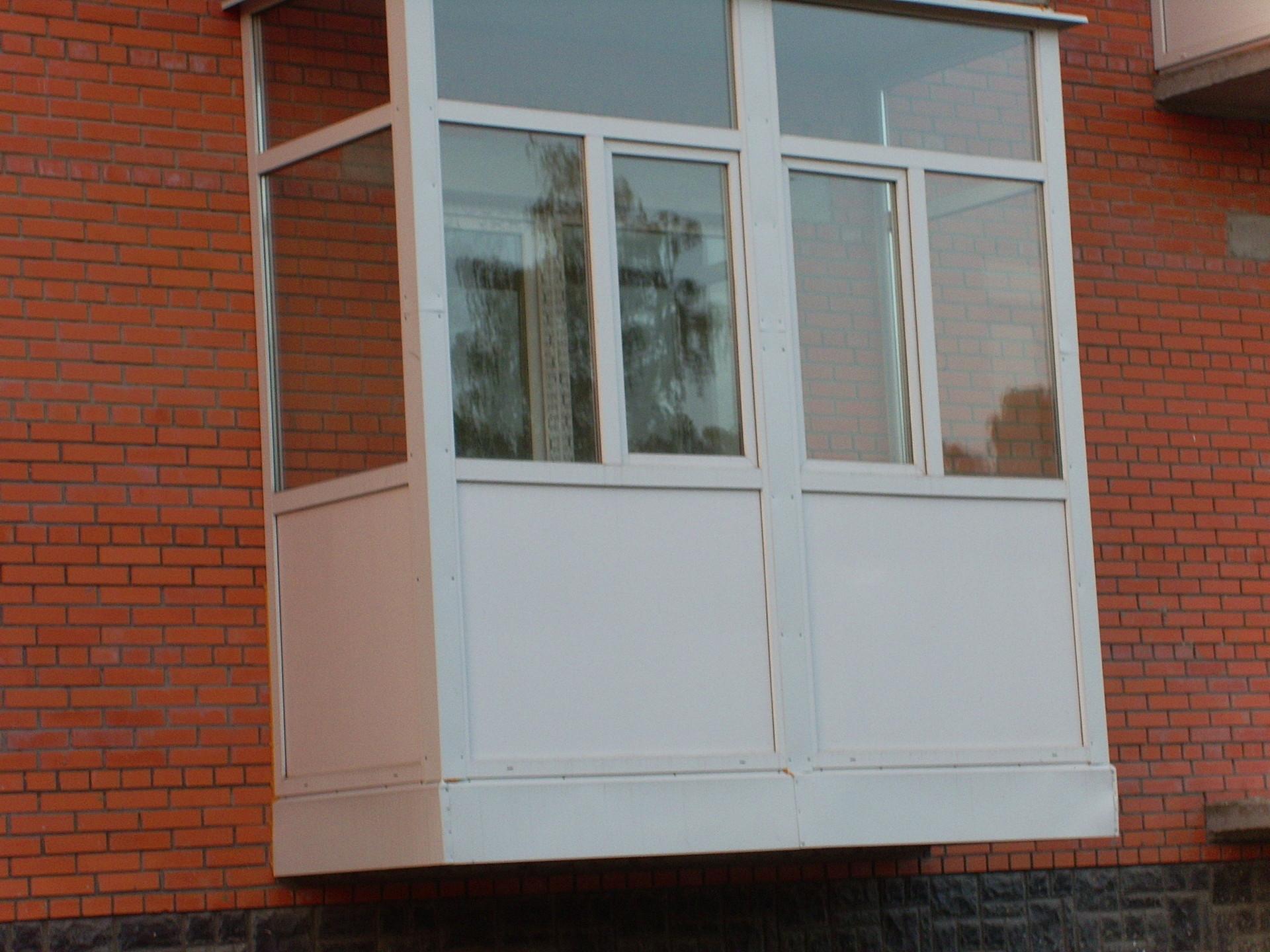 Французские балконы.