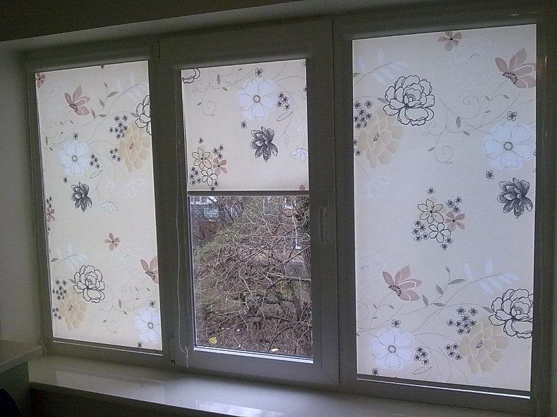Ролеты на окна тканевые фото