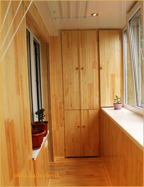 Балкон отделка внутри своими руками из простой доски.