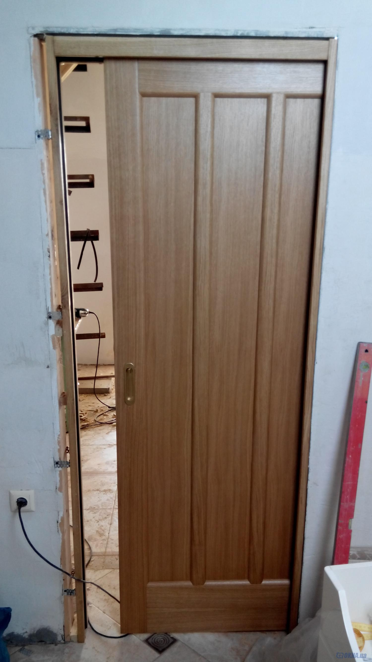 Сдвижные двери на кухню своими руками 22