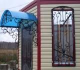 Кованые ворота, калитки, заборы, беседки, окна, входные двер