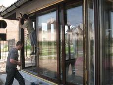 «Теплые» алюминиевые раздвижные двери ALUPROF (Польша)