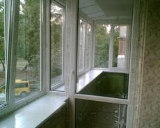 Установка и изготовление окон, дверей м/п. Киев.
