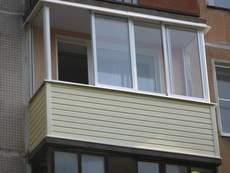 Балконы-лоджии под ключ