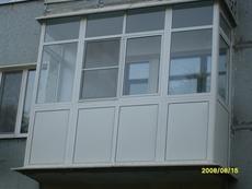 Остекление балконов И лоджий «под ключ»