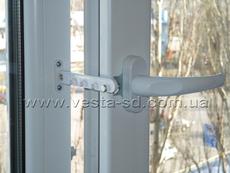Ограничитель открывания окна (гребенка) цинк