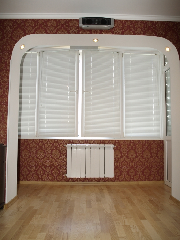 Комната без балконного блока. - фото отчет - каталог статей .