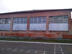 Окна в школьный спортзал г. Фастов.