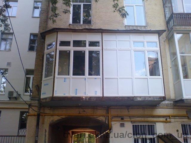 Балконы под ключ недорого фото..