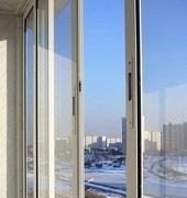 Алюминиевый раздвижной балкон за 177 eur!