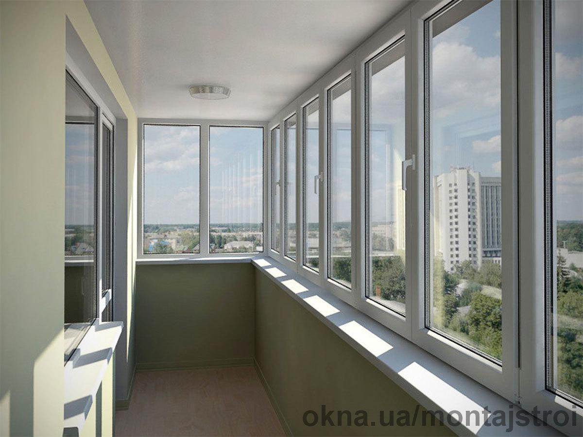 """Розширення й засклення балконів і лоджій """"під ключ""""."""