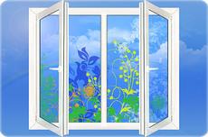 Пластиковые окна - прохладная тишина в вашей квартире.