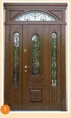 Заказать эксклюзивные входные двери.