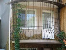 Оконные решетки, балконные ограждени