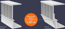 Вынос балкона по низкой цене