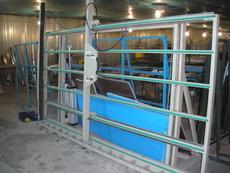 Лінія для виготовлення металопластикових вікон