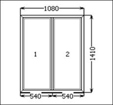 Продам пластиковое окно Rehau 1080x1410 мм