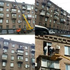 Окна, лоджии, балконы, остекление домов.
