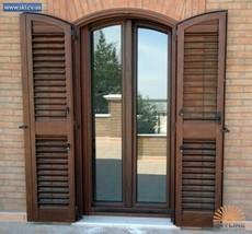 Металлические ставни на окна и двери