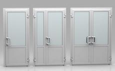 Двери металлопластиковые. входные- межкомнатные. Николаев