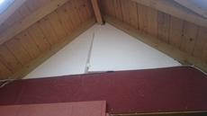 Окно глухое треугольной формы с выездом на замер