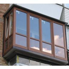 Балконы, окна, двери