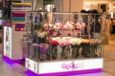 Изготовление холодильной витрины для цветов