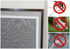 Москитные сетки на окна и двери от производителя