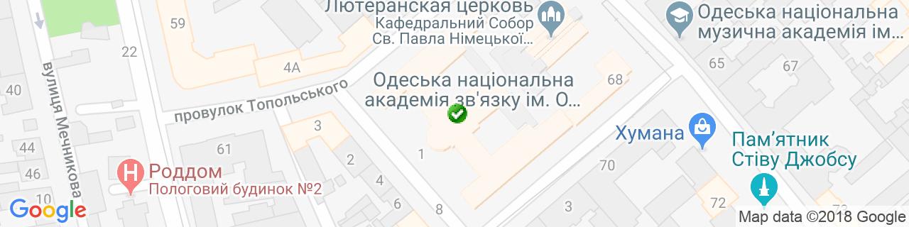 Карта объектов компании Астра Пласт