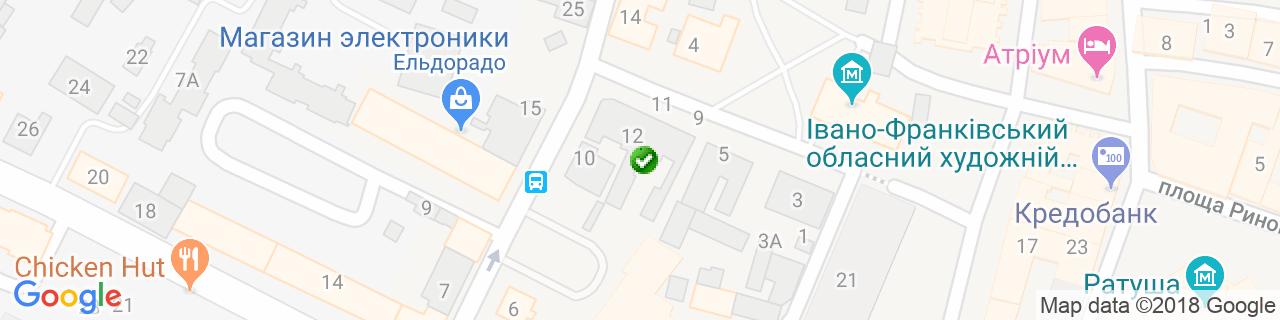 Карта объектов компании ЦИТАДЕЛЬ ГРУП