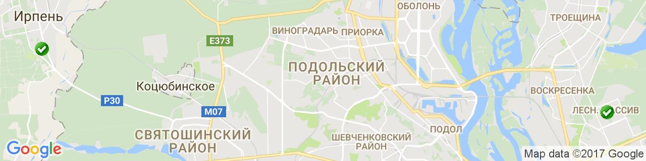 Карта объектов компании Дикий