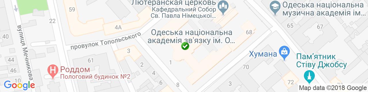 Карта объектов компании СК Еврострой