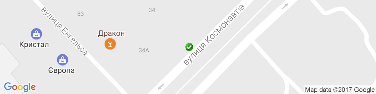 Карта об'єктів компанії Касьянов С.М.