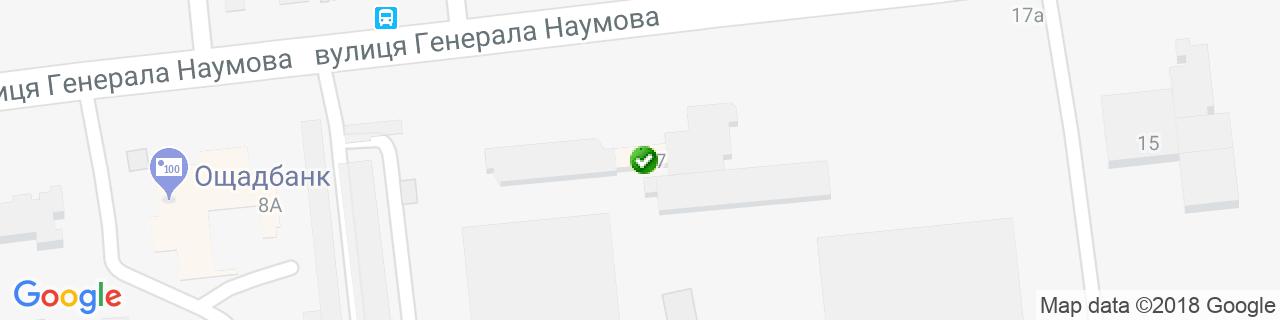 Карта объектов компании ГОЛЕОЛ
