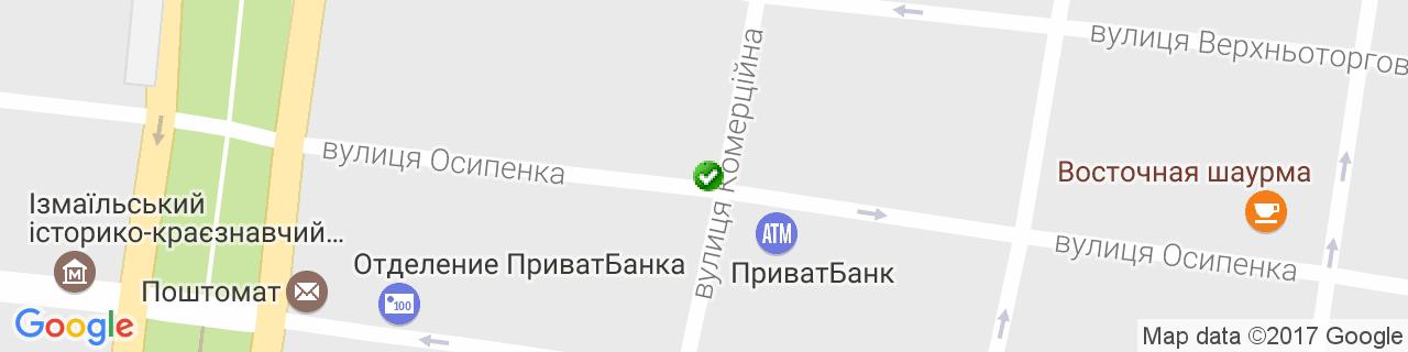 Карта объектов компании Иванова С.М.