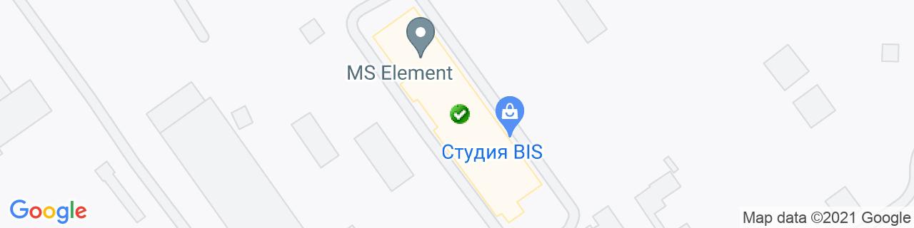 Карта объектов компании Новые окна, Компания