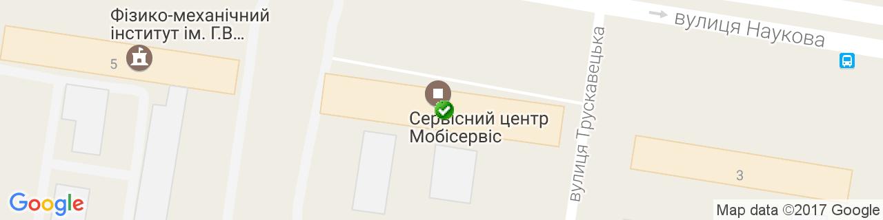 Карта объектов компании Коельнер-Украина