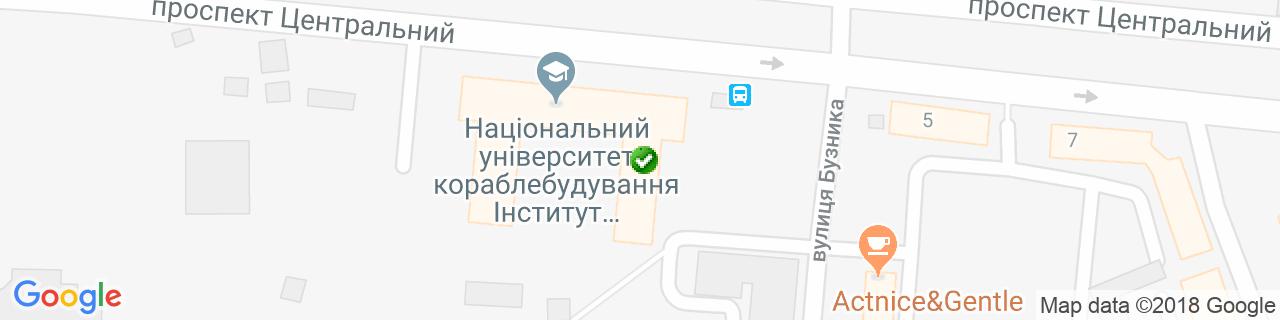 Карта объектов компании К-Систем