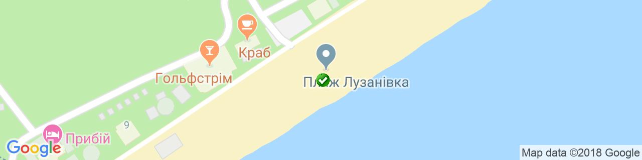 Карта объектов компании Миракон