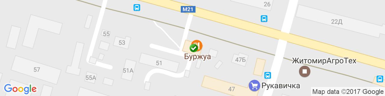 Карта объектов компании НОВЫЕ ОКНА