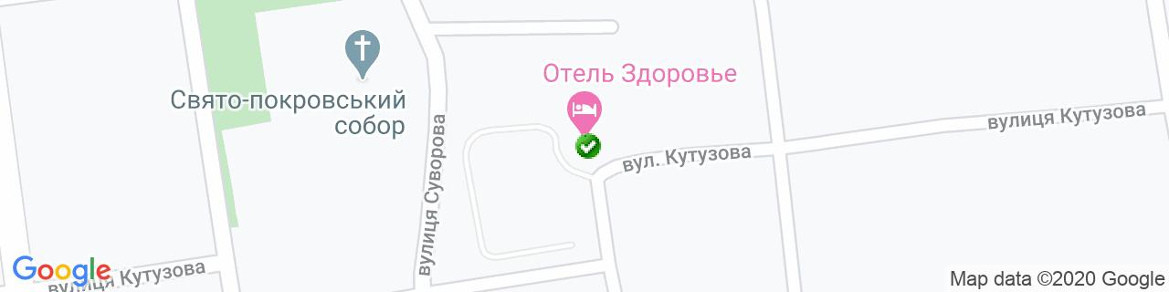 Карта объектов компании Окна-Сервис