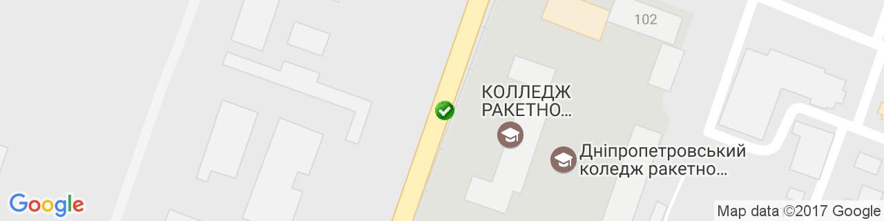 Карта об'єктів компанії POLI