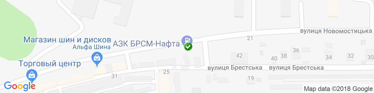 Карта объектов компании Редвин Груп