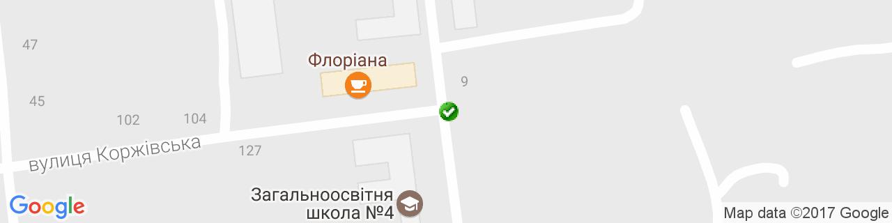 Карта объектов компании Строй Декор