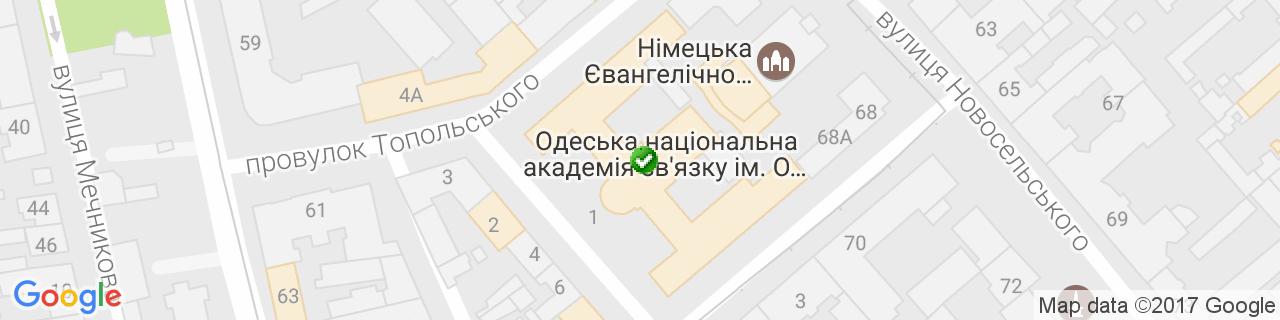 Карта объектов компании Южная Оконная Компания