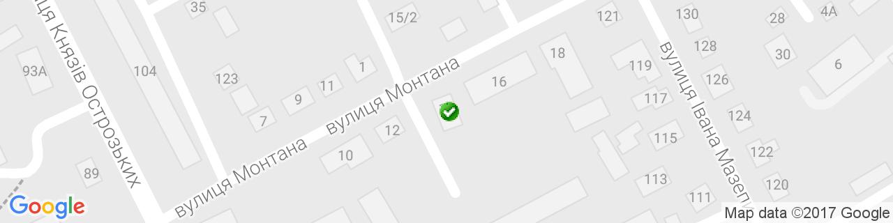 Карта объектов компании Стеко