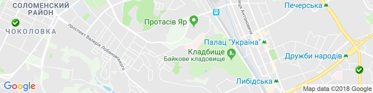 Карта объектов компании СТИМЕКС