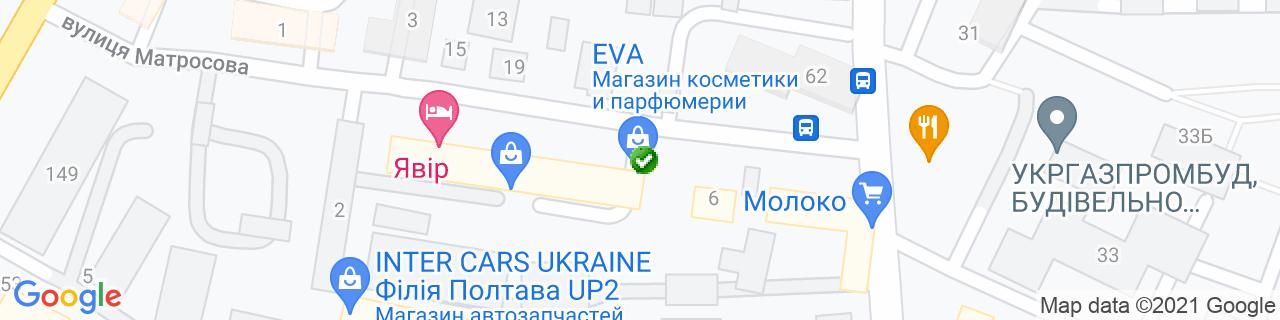 Карта объектов компании Талисман