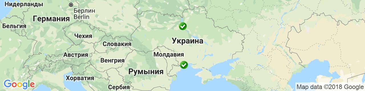 Карта объектов компании T&T